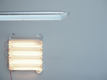 BLOW - inflateable lamp, LED, Module, air, lightweight